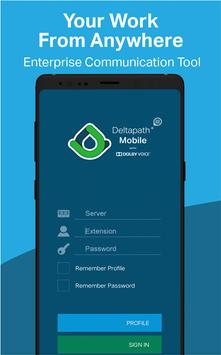 Deltapath Mobile poster