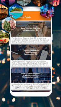 Washington Dc Guide - Top Things to Do poster