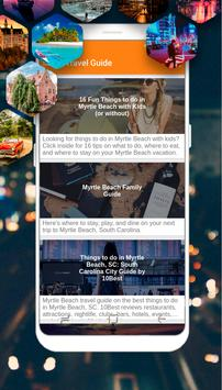 Myrtle Beach Guide - Top Things to Do poster