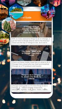 Chicago Guide - Top Things to Do poster