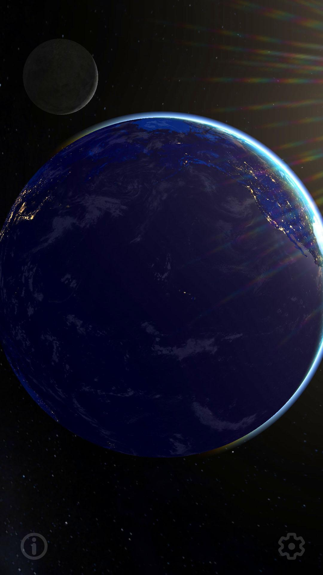 3d Earth Real Moon Live Wallpaper For Android Apk Download