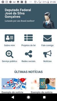 Exemplo Gabinete Virtual poster