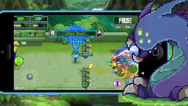 League of Warriors screenshot 3