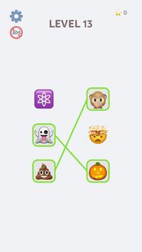 Emoji Puzzle! الملصق