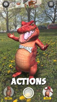Talking Croc AR Message screenshot 3