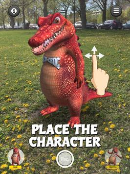 Talking Croc AR Message screenshot 10