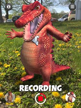 Talking Croc AR Message screenshot 12