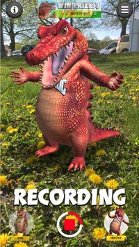 Talking Croc AR Message screenshot 4