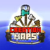 Creation Maps for Minecraft PE icon