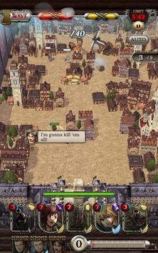 Attack on Titan TACTICS imagem de tela 8