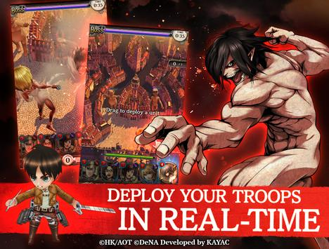 Attack on Titan TACTICS captura de pantalla 2