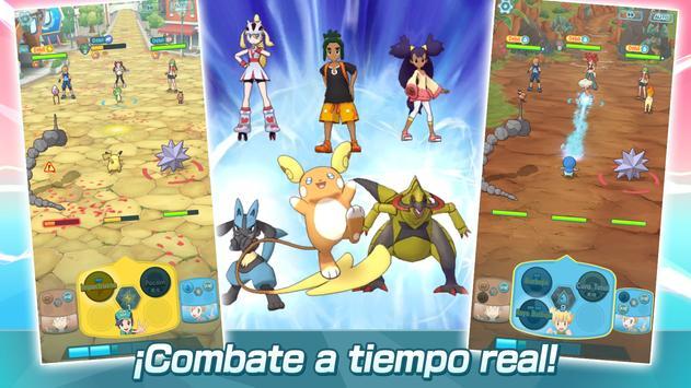 Pokémon Masters captura de pantalla 4