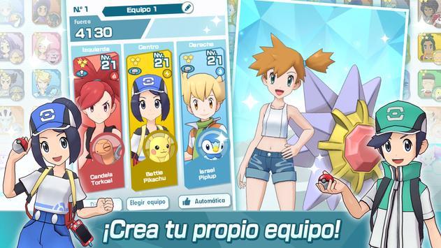 Pokémon Masters captura de pantalla 2