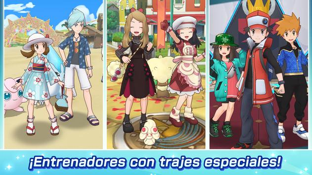 Pokémon Masters EX captura de pantalla 2