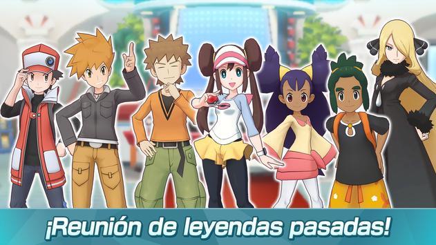 Pokémon Masters captura de pantalla 3
