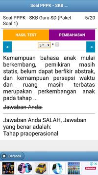 Soal CPNS PPPK Guru SD screenshot 4