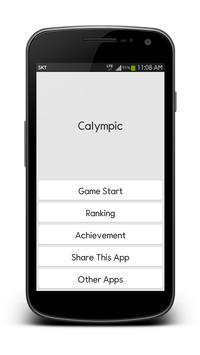 Calympic Plakat
