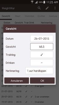 WeightWar screenshot 7