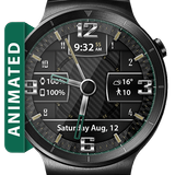Carbon Fiber HD Watch Face Widget & Live Wallpaper