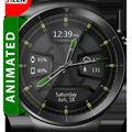 Daring Graphite HD WatchFace Widget Live Wallpaper