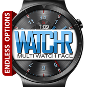WatchR - Multi Watch Face & Clock Widget icono