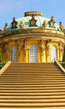 Wallpapers Sanssouci Palace poster
