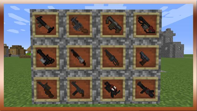 Guns and Weapons Mod for MCPE Cartaz