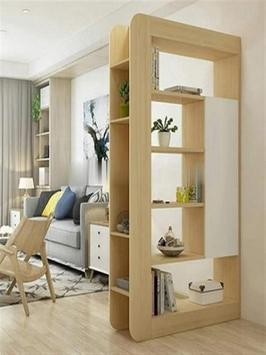 Modern Minimalist Room Divider Design screenshot 1