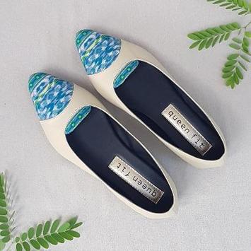 Women's flat shoes design screenshot 11