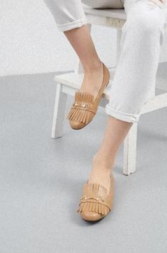 Women's flat shoes design screenshot 1