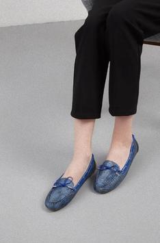 Women's flat shoes design screenshot 2