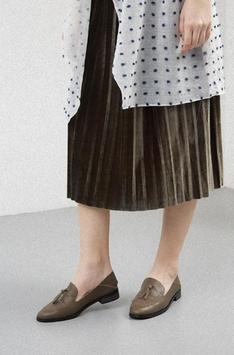 Women's flat shoes design screenshot 3