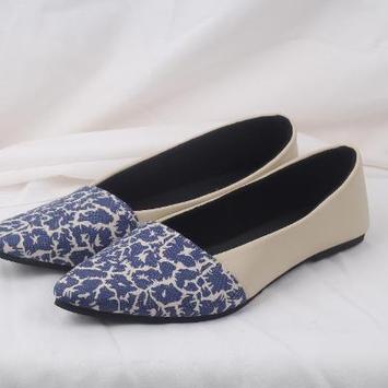 Women's flat shoes design screenshot 5