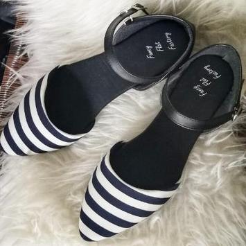 Women's flat shoes design screenshot 6