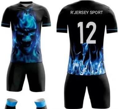 Futsal jersey design screenshot 2