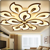 Minimalist PVC Alçı Tavan Tasarımı simgesi