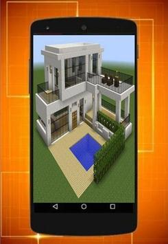 the latest design of the minecraft house poster