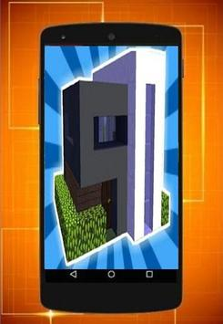 the latest design of the minecraft house screenshot 3