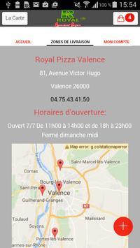 Royal Pizza Valence screenshot 3