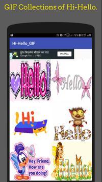 Hi Hello Gif 👋Collection screenshot 4