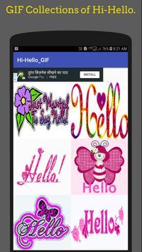 Hi Hello Gif 👋Collection screenshot 2