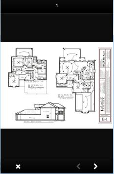 design of a two-story home electrical installation screenshot 1