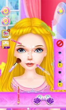 Mermaid Fashion Makeup Salon poster