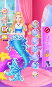 Mermaid Fashion Makeup Salon screenshot 9