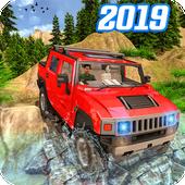 Off Road 4x4 Mountain Hill Jeep Driver 2019 icon