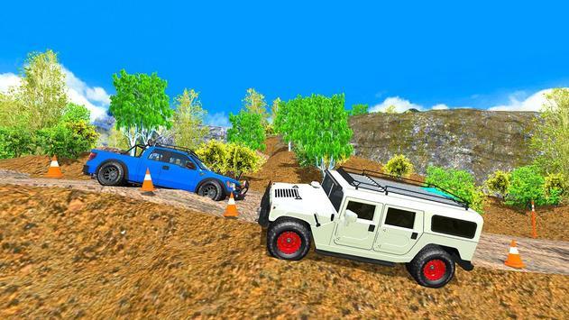 Off Road 4x4 Mountain Hill Jeep Driver 2019 screenshot 5