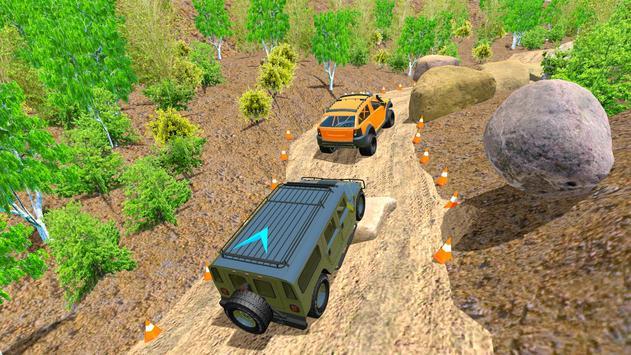 Off Road 4x4 Mountain Hill Jeep Driver 2019 screenshot 12