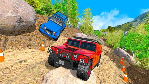 Off Road 4x4 Mountain Hill Jeep Driver 2019 screenshot 1