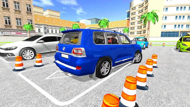Modern Reverse Jeep Car Parking Master screenshot 4