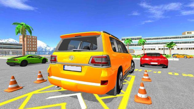 Modern Reverse Jeep Car Parking Master screenshot 6